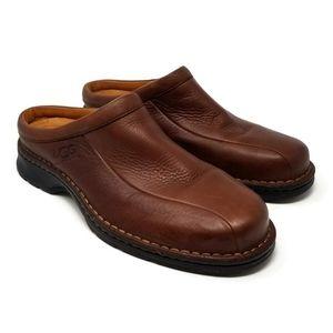 UGG Men's Olson Leather Slip-On Shoe Size 11